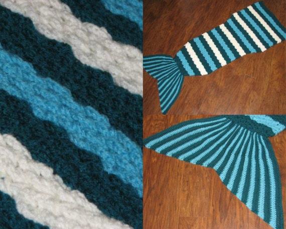 Crochet Pattern Mermaid Tail Afghan / by CreativeCrochetbyBAS