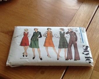 Vintage style pattern no 1291