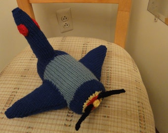 Knitted Airplane