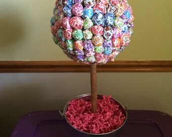 Large lollipop topiary