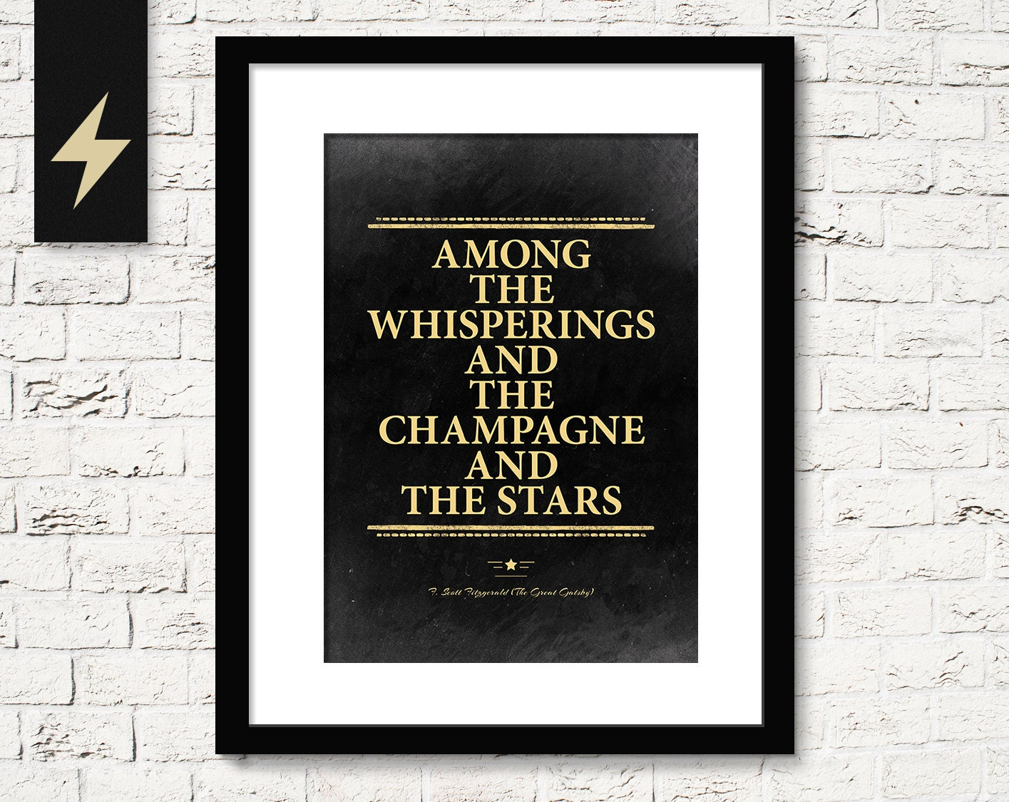 Great gatsby champagne quote f scott fitzgerald the great for Decoration quotes sayings