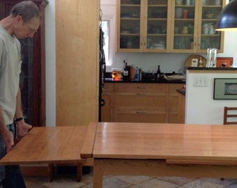 Cherry Stow-Leaf Extension Table