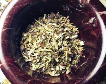 Wood Betony - Stachys betonica - Protection, Purification, Love - Magickal Herb - Incense Supplies - Alter Herb -DIY Incense