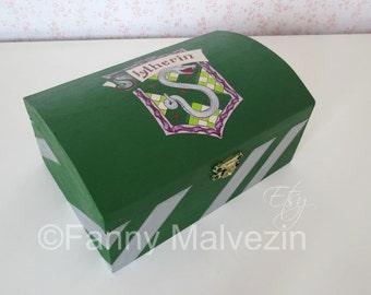Slytherin box - Harry Potter