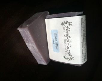 Serenity Goat Milk Bar Soap (Lavender)