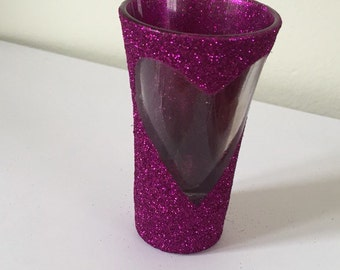 Items Similar To Liquid Therapy Glittered Wine Glass On Etsy