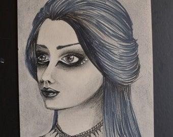 Goth Girl - 22,5 / 16 cm