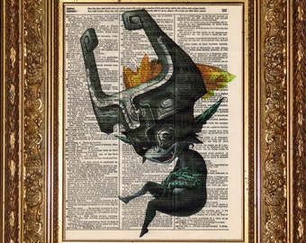 Midna (Zelda) Print