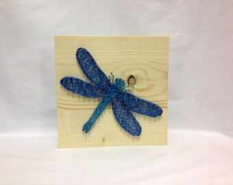 String Art Dragonfly Sign Wall Art