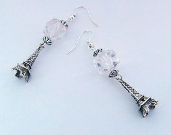 Eiffel Tower Fashionable Paris Earrings