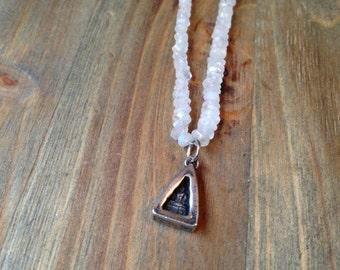 Moonstone Buddha Necklace