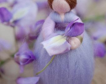 Wisteria fairy tale, wool, Waldorf inspired