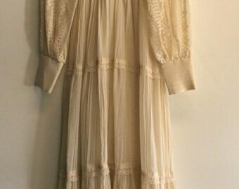 Peasant Maxi Dress