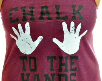 Chalk to the Hands racerback tank