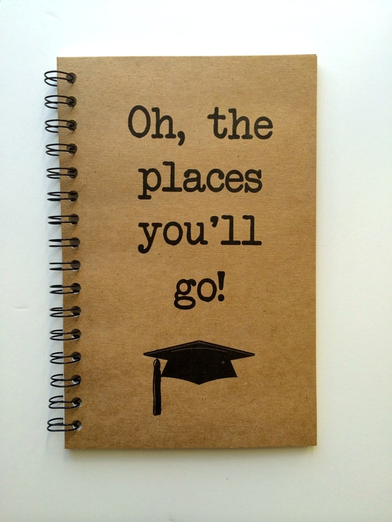 Travel graduation gift oh the places you ll go dr seuss quote