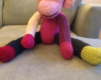 Knitted Stuffed Gorilla