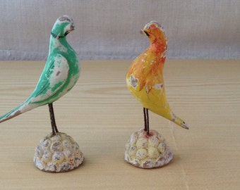 Vintage Ceramic Bird Figurines