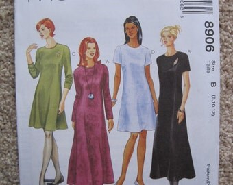 UNCUT Misses Dress - McCalls Pattern 8906