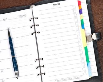Filofax Personal To Do List, Filofax Personal Printable, Filofax Personal Printable, Filofax To Do list, Personal Filofax Printables