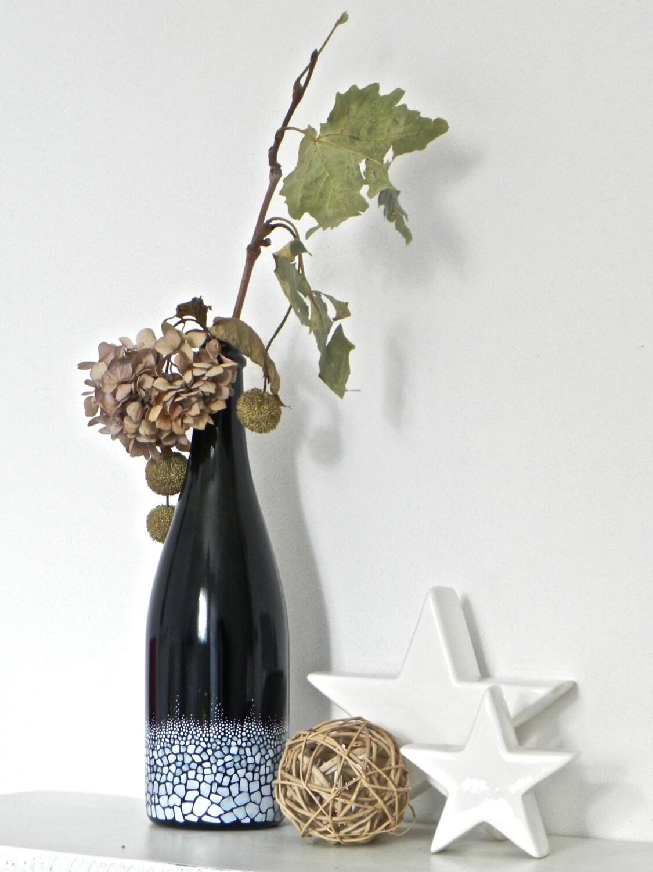 Bottiglie di vetro portafiori - Portafiori in vetro ...