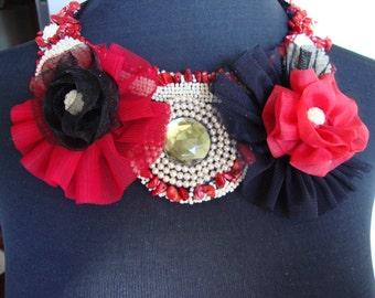 Beautiful bib necklace. Lovely bib necklace