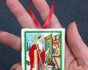 Patron Saint Nicholas Ornament
