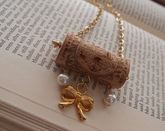 All aBOWt Wine Cork Necklace