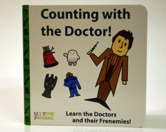 Counting with the Doctor! count to 12 with Dr. Who, kids board book
