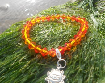Here comes the sun bracelet