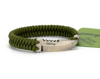Blade bracelet - blade jewelry for real men who love knives, adventure and freedom. 100 colors!
