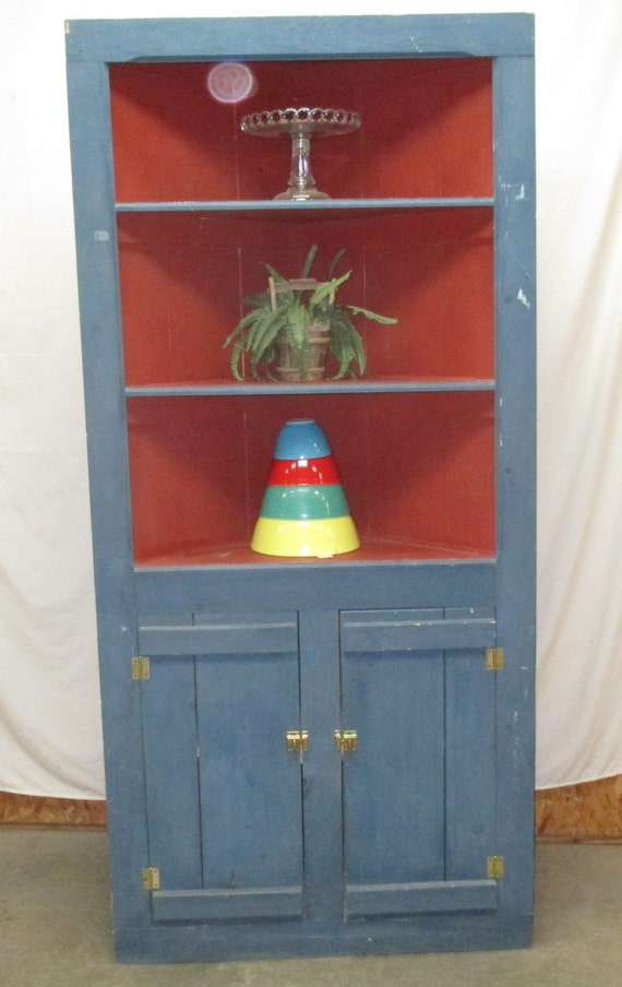 kitchen corner display cabinet corner cabinet display country by theoldgrainery 21597