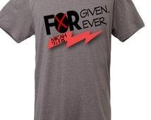 Forgiven, Forever  |  Christian T Shirt  | Grey | Men's | Unisex