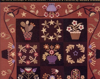 Quiltmaker's Guide to Fine Machine Applique, how-to by Menaugh. Ralston. Brackman. 2002.