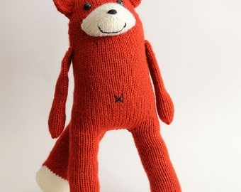 Large Knit Red Fox