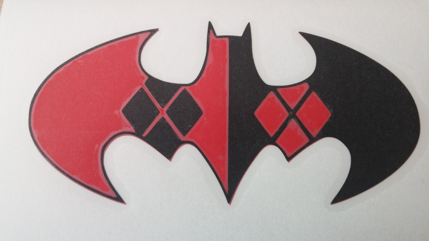 Batman Harley Quinn Logo Popular Items For Decal On Etsy