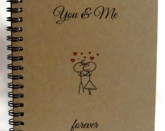 You & Me Forever Journal, Notebook