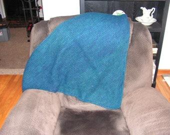 Hand Knit 100% Alpaca Shawl
