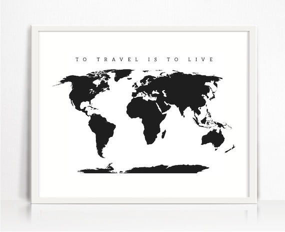 world map printable wall art world map print world map. Black Bedroom Furniture Sets. Home Design Ideas