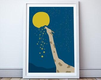 Starry Night - A4 Print