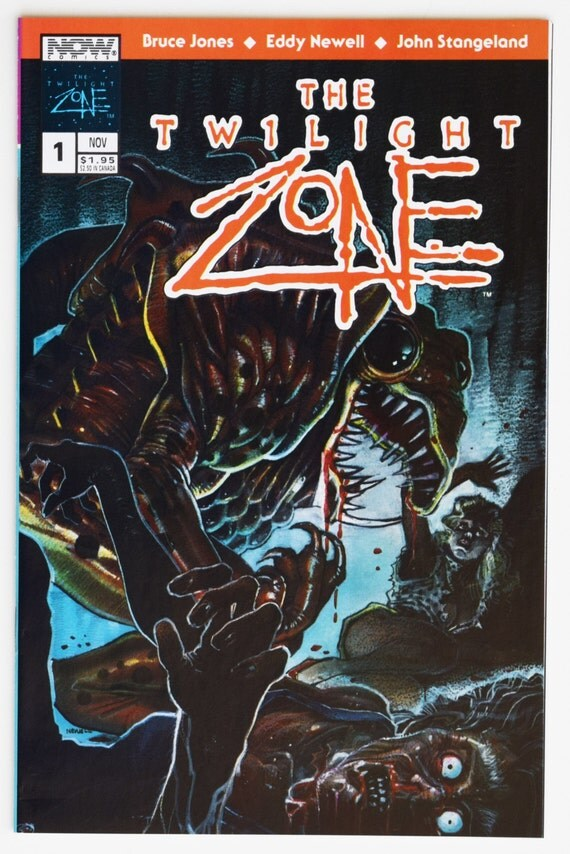 Old Book Cover Zone : Twilight zone no comic book collectable horror