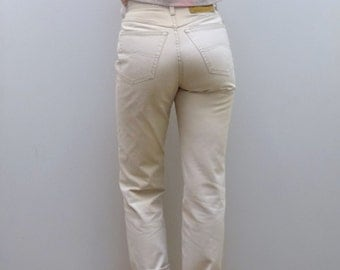 Beige mom high waisted jeans Liberto