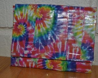 Tie Dye Duct Tape Wallet
