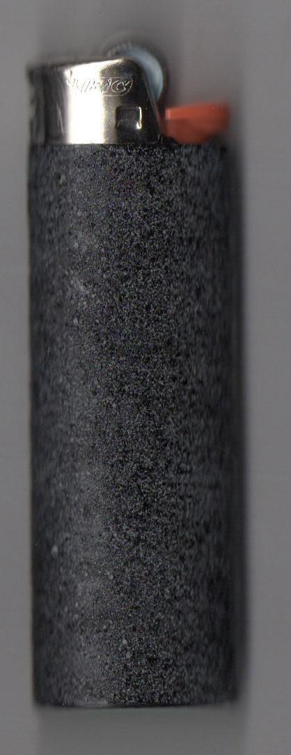 Hand Painted Black Granite Lighter