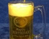Personalized 27 oz. Beer Mug-Engraved beer Mug-Free Engraving-Groomsmen Gift-Birthday-Fathers Day-Wedding Party Gift-Graduation-Beer Stein