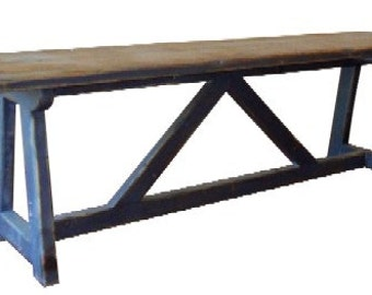Reclaimed, Salvaged, Solid Wood, Bench, Vintage and Rustic, Shabby Chic