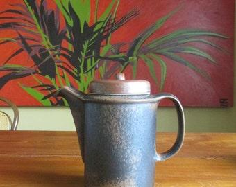 Arabia Ruska Coffee Pot  -  Ulla Procopé - Finland - Mid Century Vintage Retro