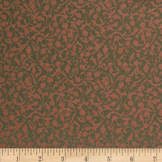 Fretwork Fabric: Woven Crypton Fabric Scott Fabrics Fretwork Ivy By ASelfDesign