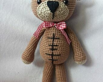 Amigurumi cute teddy bear