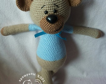 Czesio The Teddy Bear crochet pattern
