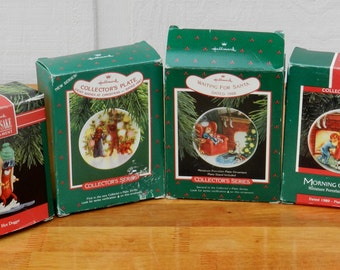 4 Collectible Hallmark Ornaments      00171